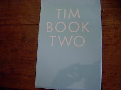 Tim Book Two - Tim Burgess. Signed UK limited edition 1/1