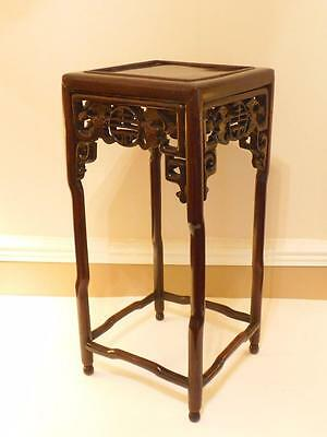 Chinese Rosewood Table. Qing dynasty, 19th C.