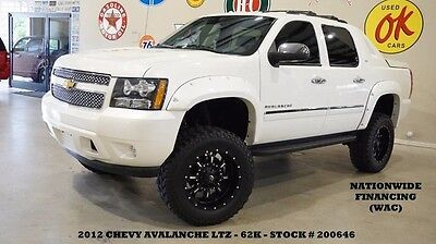 2012 Chevrolet Avalanche 12 AVALANCHE LTZ 4X4,SUNROOF,NAV,REAR DVD,HTD/COOL 12 AVALANCHE LTZ 4X4,SUNROOF,NAV,REAR DVD,HTD/COOL LTH,FUEL WHLS,62K,WE FINANCE!