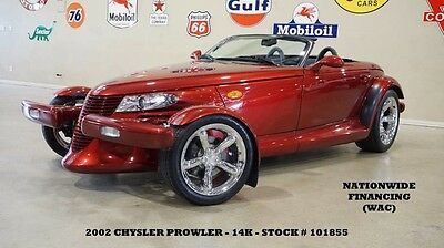 2002 Chrysler Prowler 02 PROWLER CONVERTIBLE,TRAILER,LEATHER,6 DISK CD,C 02 PROWLER CONVERTIBLE,TRAILER,LEATHER,6 DISK CD,CHROME WHEELS,14K,WE FINANCE!!