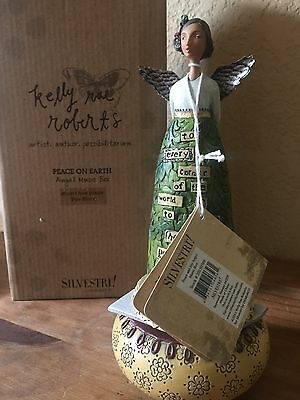 Peace And Joy Angel Figure Music Box By Kelly Rae Roberts