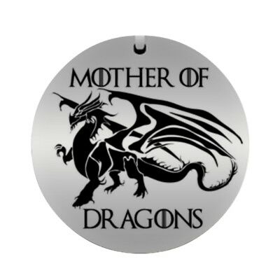 Mother of Dragons Daenerys Targaryen Game of Thrones Inspired Pendant Necklace