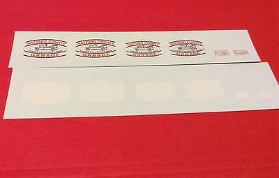 COOTER'S GARAGE 1/25 - 1/24 scale police decals Dukes of Hazzard
