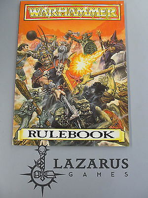 """Warhammer Fantasy """"Oldhammer"""" -  Rulebook Rule Book (4th Ed softcover) (K1B31)"""