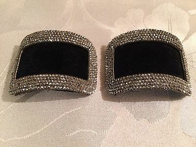 Pair of Antique French Victorian Cut Steel Belt / Shoe Buckles  - Lot 4