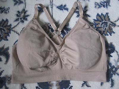 A Pea In The Pod Maternity Bra Postpartum Nursing Breastfeeding Racerback Size M