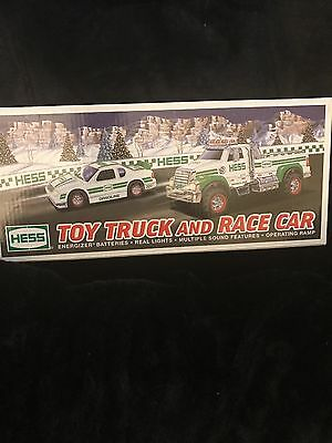 2011 Hess Truck And Race Car Toy