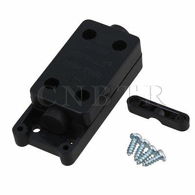 CNBTR IP54 Waterproof Mini Cable Wire Junction Box for 1.5 Square Lines Black