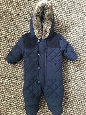 Baby Boys First Size Snowsuit