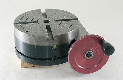 Sherline 4 inch Precision Rotary Table 3700