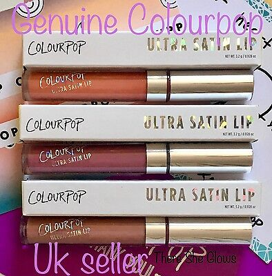 *GENUINE* ColourPop Ultra Satin Lip Liquid Lipstick (Satin Matte Finish) UK