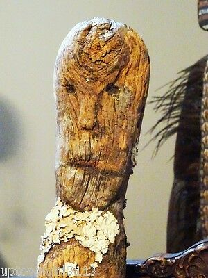 AFRICAN ART GRAVE MARKER Billy Jamieson COLLECTION Niagara Falls Museum RARE