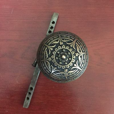 Antique Victorian Solid Bronze Doorknob