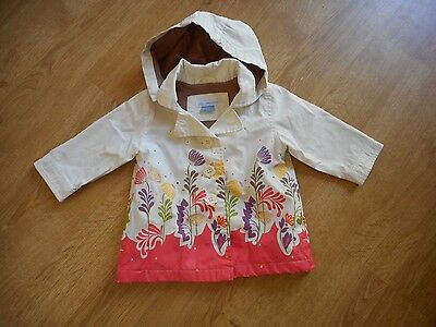 John Lewis Lightweight Baby Girls Coat age 3/6 MONTHS