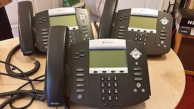 1 set Polycom Soundpoint IP550 SIP w/ power supply