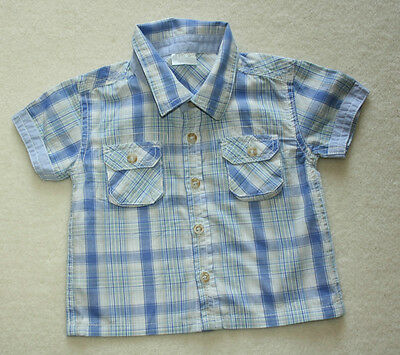 Baby Boy Short Sleeve Shirt Age: 6-9 Months FREE POSTAGE