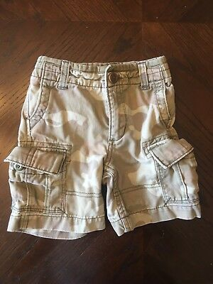 Boys Baby Gap Shorts, Camouflage, Size 18-24 Months