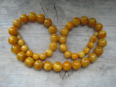 Bernsteinkette Baltischer Bernstein Baltic Amber Necklace Butterscotch