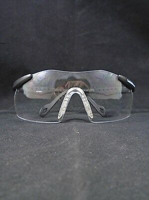 JACKSON SMITH & WESSON Magnum Black Clear Scratch Resistant Lens Safety Glasses