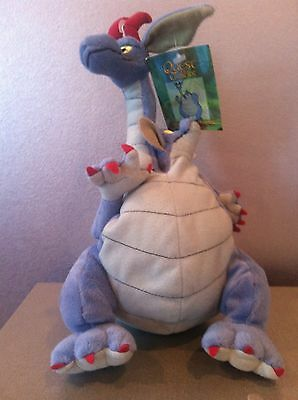 """Warner Brothers Studio Store Quest For Camelot Devon & Cornwall 10"""" Bean Bag"""
