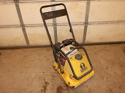 WACKER wp1550 PLATE COMPACTOR VIBRATORY TAMPER wp 1550 (LOCAL PICK UP ONLY!!!!!)
