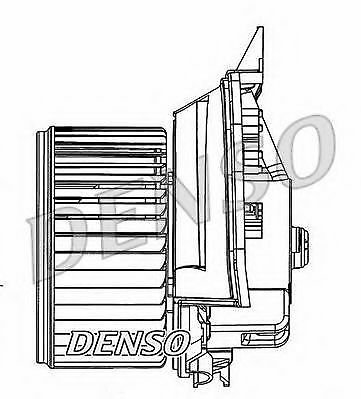 Interior Blower Motor DEA20202 Denso Heater 55702448 Genuine Quality Replacement