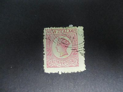 New Zealand Stamps: 1/2d Newspaper Used (1041)