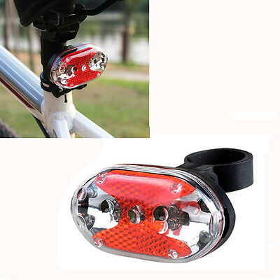 MNew Bright Bike Bicycle Cycling 9 LED Flashing Light Lamp Safety Back Rear Tail