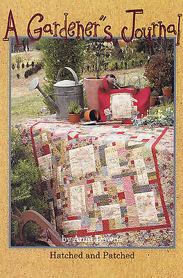 A Gardener's Journal - fun garden themed project book from Hatched & Patched