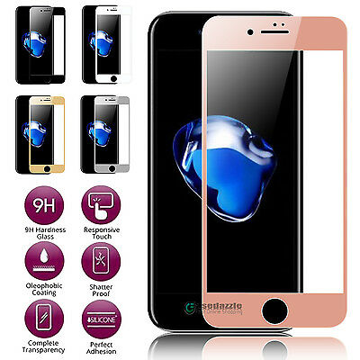 Full Coverage Tempered Glass Film Screen Protector for iPhone 6 6S 6Plus 7 7plus