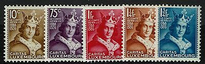 Luxembourg SC# B55-B59, Mint Lightly Hinged - Lot 040917