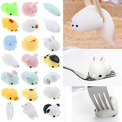 HOT Dolls Small Animal Squishy Squeeze Cute Healing Toys Kawaii Stress Relievers