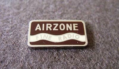 Vintage Valve Radio Badge - Suit various Airzone Radio's from 1940 - 1948 Cub