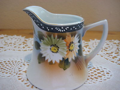 Vintage Hand Painted Japanese Creamer, Made In Japan