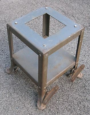 Delta rockwell table saw stand with casters for a model 34-600 table saw