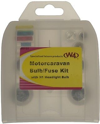 Motor Caravan Bulb Fuse Kit with H1 Bulb W4 00101 New
