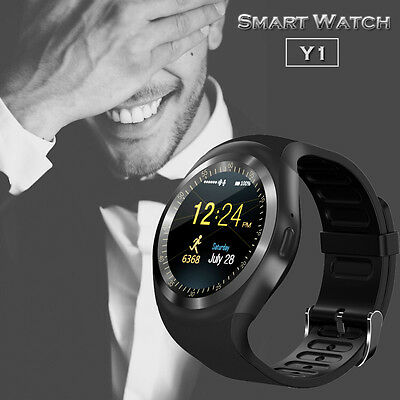 Bluetooth Smart Watch Phone Mate Round Touch Screen for IOS Android IPhone LG