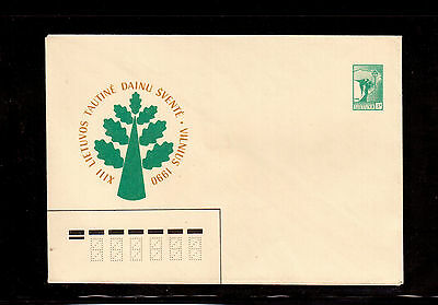 Lithuania 1990 Postal Stationary, Re-Establishment The Republic Of Lithuania !!4