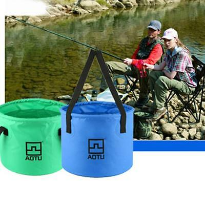 Aotu Collapsible Bucket Multifunctional Folding Bucket For Camping Hiking