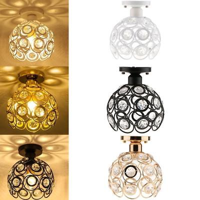 Creative Crytal Ceiling Light Shade Home Living Room Bedroom Dining Room Decor