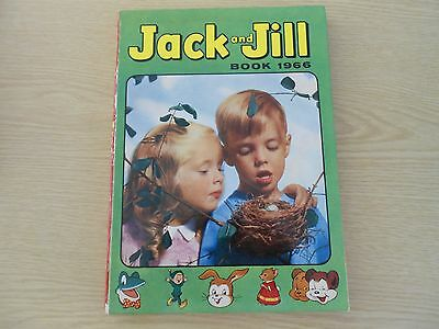Vintage Jack and Jill Annual 1966