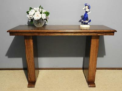 ANTIQUE VINTAGE ART DECO HALL DISPLAY LAMP CONSOLE SOFA TABLE DESK TV STAND 30s