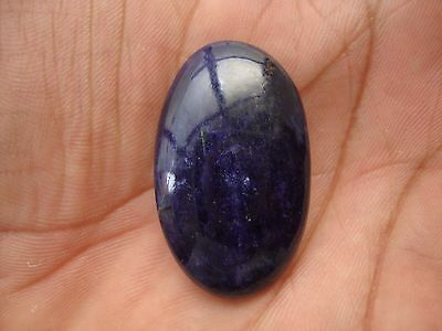 8 Cts 100% Natural Healing Wonderful Blue Color Sodalite Loose Oval Gemstone