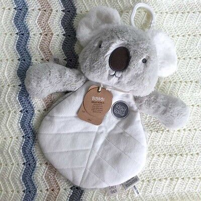O.B Designs Comforter Kelly Koala (Grey) - Baby Plush Security Blanket OB Gift