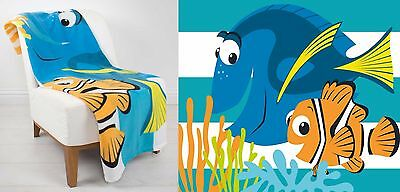EXTRA LARGE - Finding Nemo Dory Super Soft Fleece Blanket Kids Girls Childrens
