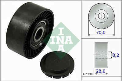 Auxiliary Belt Idler Pulley 532046810 INA Deflection 03G145276 Quality New