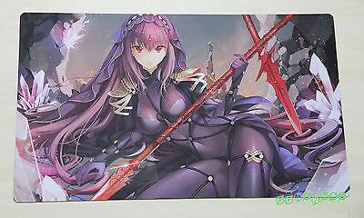 F1951 Free Mat Bag TCG Playmat CCG Mat Keyboard Pad Fate Grand Order Scathach