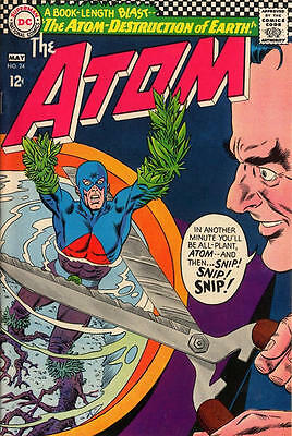 ATOM ISSUE 24 1st SERIES AMERICAN COMIC BY DC + FREE & FOIL BALLOON