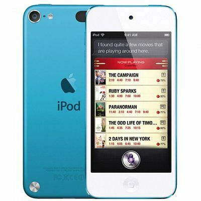 Apple iPod Touch A1421 5th Generation 32GB Portable Music Player Blue Boxed
