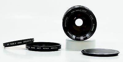 35mm f2.8 Nikon Camera MF Lens by Spiratone Excellent ++